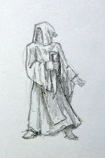 Cultist concept sketch