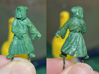 Cultist sculpt in progress