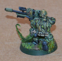 Cadian sniper kneeling
