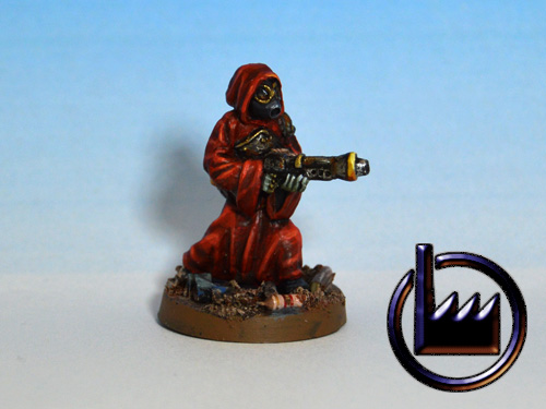 Cultist with flamethrower
