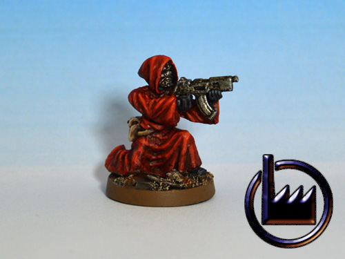 CUL03 - Cultist with sub-machine gun