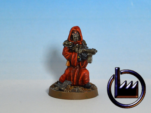 CUL05 - Cultist with machine pistol
