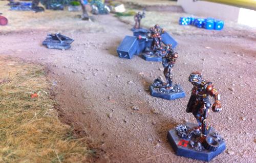 Copplestone robots advance