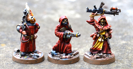 Cultist flamers