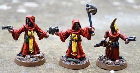 More cultist close combat
