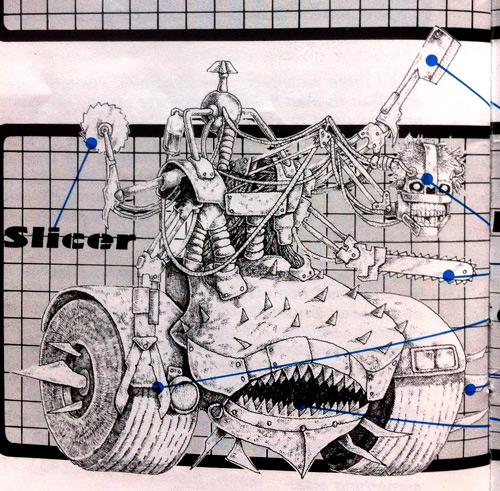 Meat Machine illustration