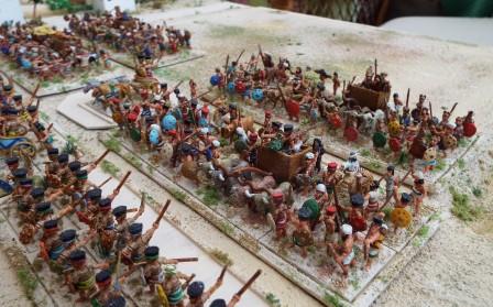 Sea peoples wagons