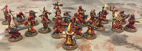Cultist army
