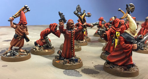 Close combat Cultists