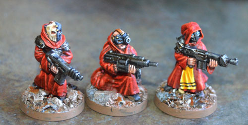 3 new variants of the cultists