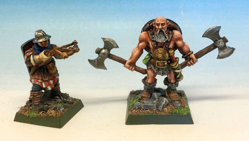 Marksman and Barbarian
