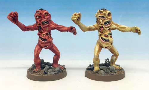 Chainsaw Warrior Mutant Models