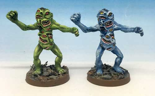 More Chainsaw Warrior mutants