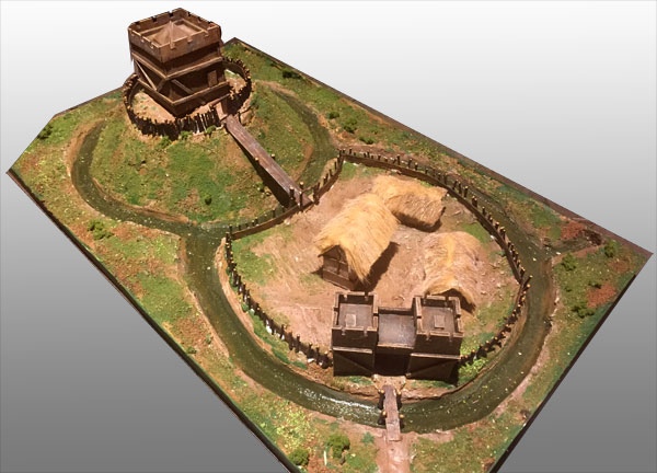 Norman Motte And Bailey Castle Warfactory