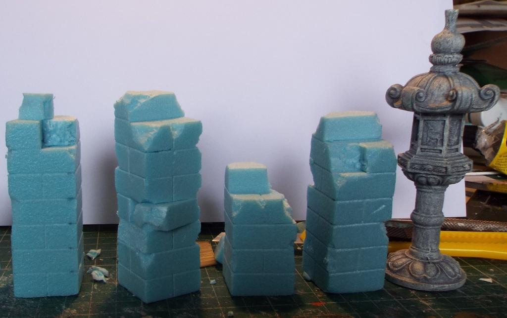 Frostgrave pillars WarFactory