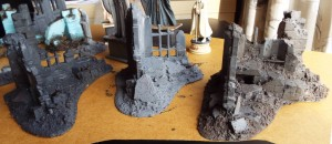 ruins painted sprayed drybrushed
