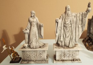 statues finished 2